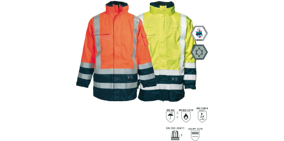 ELKA SECURETECH MULTINORM JACKET – 086150R
