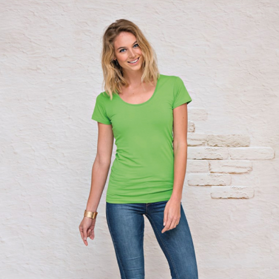 Lemon & Soda T-SHIRT CREWNECK COTTON ELASTHAN SS for her – LEM1268