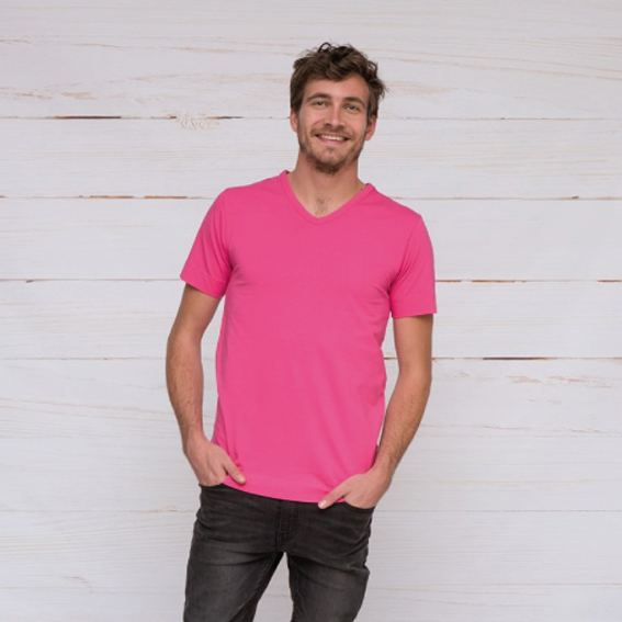 Lemon & Soda T-SHIRT V-NECK COTTON ELASTHAN SS for him – LEM1264